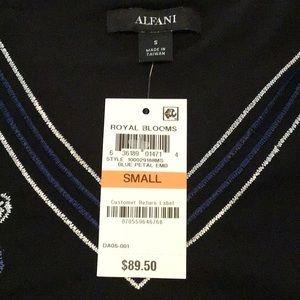 Alfani Tops - NWT Alfani High Low V-Neck Floral Tunic